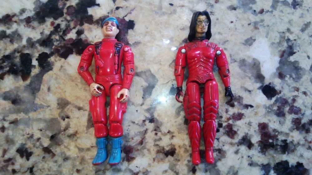 GI Joe Funskool Holy Grails: Red Stalker & Red Baroness!!!! (4/4)