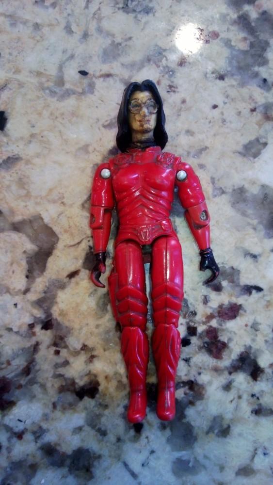 GI Joe Funskool Holy Grails: Red Stalker & Red Baroness!!!! (3/4)